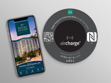 wi‐Q Technologies partners with Aircharge to boost F&B revenue through wireless charging