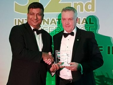 Greater Anglia's free water fountains are runner up at international ideas awards