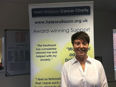 Helen Rollason Cancer Charity announces appointment of new Chief Executive Officer