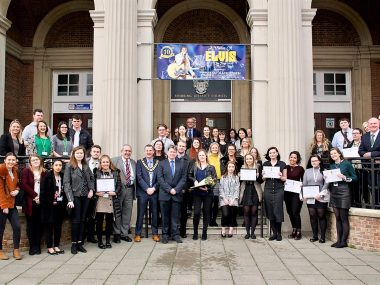 Apprentices' Success Highlighted at Career Track Celebration