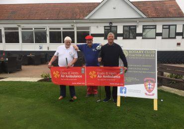 Golfers raise a FORE-tune for Air Ambulance