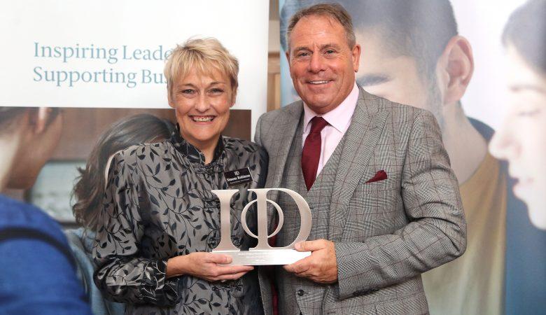 Double Award-Win for Jon at 2019 IoD East of England Awards Ceremony