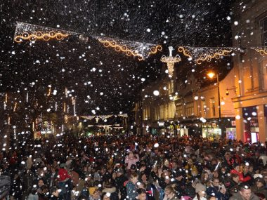 Thousands head into town to mark the start of Christmas in Colchester