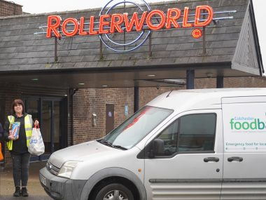 Rollerworld to get festive cheer rolling in support of Colchester Foodbank