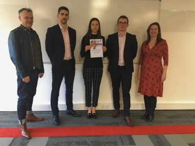 Apprentice recognised in national scheme